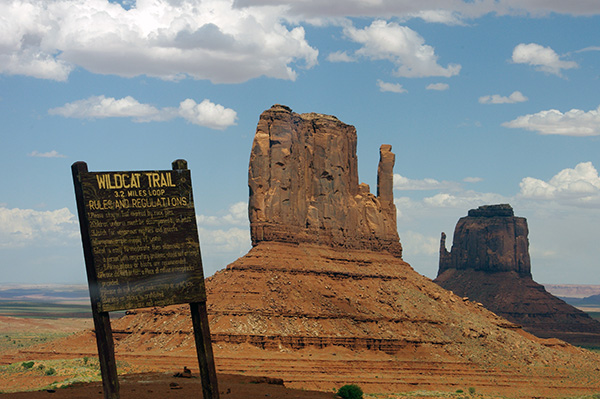 "Wildcat trail and ""the Mittens,"" Utah"